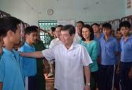 Lãnh đạo TP HCM thăm các trung tâm cai nghiện