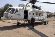"""Tết đặc biệt của sĩ quan """"mũ nồi xanh"""" Việt Nam ở Nam Sudan"""