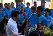 Bộ trưởng VH-TT-DL khích lệ VĐV dự SEA Games 29