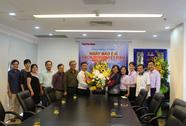 Lãnh đạo TP HCM thăm Báo Người Lao Động