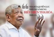 Nguyên Tổng Bí thư Lê Khả Phiêu: Cấp cao cũng không né tránh