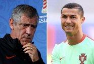 HLV tuyển Bồ Đào Nha tin Ronaldo vô tội