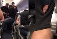 Hành khách bị lôi xềnh xệch khỏi máy bay Mỹ