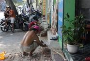 Vũng Tàu: Tái lấn chiếm vỉa hè ở những nơi đắc địa