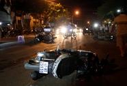 Ô tô tông 3 xe máy, 8 người bị thương