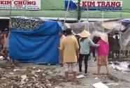 Cảnh sát nổ súng bắt người đàn ông cầm hung khí ngăn thi công chợ