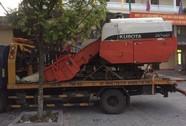Trộm máy gặt lúa 300 triệu đồng, thuê xe cứu hộ chở về quê