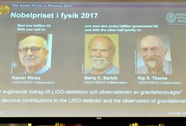 Nobel Vật lý 2017 tôn vinh khám phá đầu tiên về sóng hấp dẫn