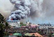 Philippines: Ném bom phá hủy để cứu Marawi