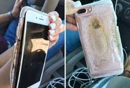 iPhone 7 Plus nổ nứt vỏ, bốc khói trắng