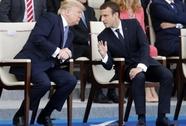 Ông Macron nói gì sau chuyến thăm của Tổng thống Donald Trump?