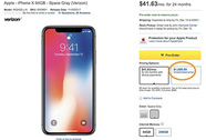 Người dùng Mỹ phẫn nộ vì iPhone X 'đội' giá 100 USD