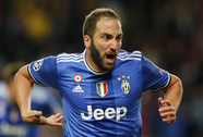 """""""Cú đúp"""" của Higuain định đoạt trận Monaco – Juventus"""