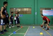 Học sinh chuyên Lê Hồng Phong hào hứng với các tuyển thủ khổng lồ