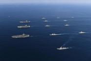 3 tàu sân bay Mỹ tập trận, Triều Tiên cảnh báo chiến tranh hạt nhân