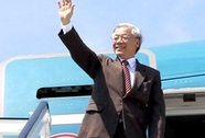 Tổng Bí thư lên đường thăm chính thức Trung Quốc