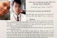 Chủ tịch tỉnh Thái Bình không có cháu tên Cao Mạnh H.