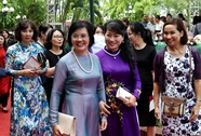Cận cảnh Phu nhân Thủ tướng dự Lễ hội vàng ASEAN