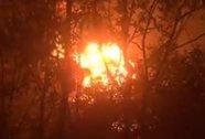 Tạm giữ nghi can làm xưởng cháy ngùn ngụt trong đêm