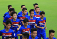 Việt Nam, Đài Loan hăng hái tập luyện trước ngày so tài