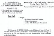 TP HCM yêu cầu kiểm tra môi trường ở bãi rác Đa Phước