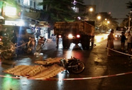 Xe tải tông xe máy, 3 công nhân KCN Tân Tạo tử vong