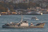 Tàu do thám Nga bị chìm ở biển Đen