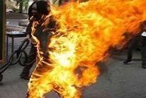 Dùng xăng đốt chuột, nam sinh cháy như ngọn đuốc