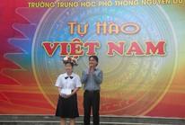 """Tuyên dương á quân cuộc thi """"Tự hào Việt Nam"""""""