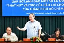 """TP HCM: """"Đặt hàng"""" các quận, huyện xử lý vấn đề báo chí nêu"""