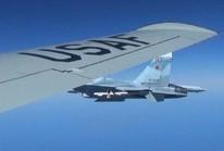 Công bố bức ảnh đầu tiên máy bay Nga – Mỹ chạm trán sát rạt