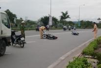 Một người phóng nhanh, 4 người bị thương trên Quốc lộ 1