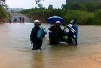 Bão số 4 đổ bộ vào Quảng Bình gây mưa lớn, nhiều nơi bị ngập