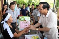 Bộ Lao động hỗ trợ Hà Tĩnh, Quảng Bình 1 tỉ đồng khắc phục thiệt hại bão số 10