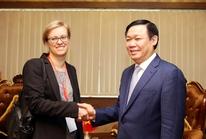Bí thư thứ nhất Đại sứ quán Đức khẳng định hợp tác với Việt Nam