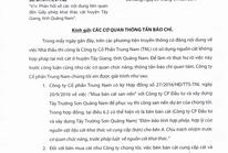 """Vụ nghi giả quyết định phó chủ tịch tỉnh: Trung Nam nói """"không liên quan"""""""
