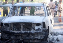 Bắt 6 nghi phạm trong vụ đốt ô tô khiến giám đốc tử vong