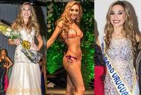 Cận cảnh nhan sắc Hoa hậu Uraguay 2017