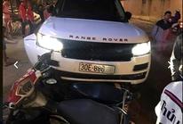 Nghi án thanh niên cướp xe Range Rover gây tai nạn liên hoàn