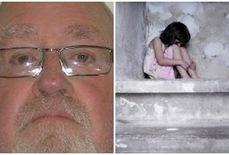 """""""Ác quỷ"""" lạm dụng tình dục 12 bé gái suốt 25 năm"""