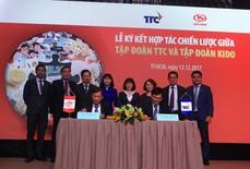 TTC và KIDO ký kết hợp tác phân phối đường