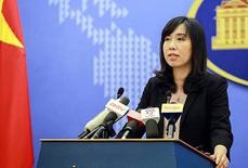 Người phát ngôn trả lời câu hỏi Việt Nam mua tên lửa Brahmos