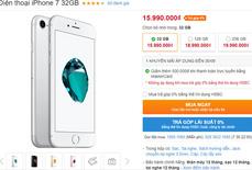 iPhone 8 về nước, iPhone 7 đồng loạt giảm giá