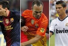 """Iniesta lọt vào top 3 """"Cầu thủ xuất sắc nhất châu Âu"""""""