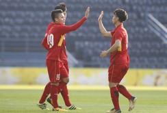 """Công Phượng lập """"cú đúp"""", U23 giành hạng ba trên tay Thái Lan"""