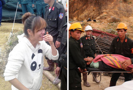 Vụ sập hầm thủy điện: Khoảnh khắc cứu sống các nạn nhân