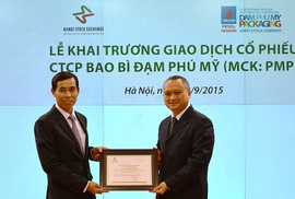 PMP gia nhập sàn chứng khoán HNX