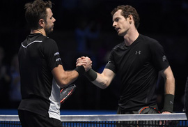 Wawrinka bại trận trước Murray, mất ngôi số 3 thế giới