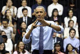 Hình độc của Tổng thống Obama tại Việt Nam