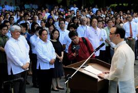 Philippines, Trung Quốc né vấn đề chiến tranh ở biển Đông